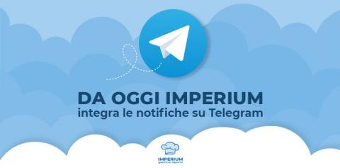Imperium integra le notifiche su Telegram